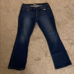 Old Navy bootcut jeans - discontinued style